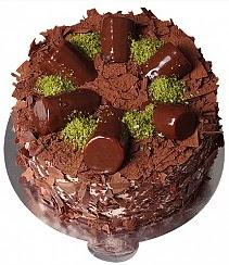 4 ile 6 kişilik çikolatalı Muzlu yaş pasta