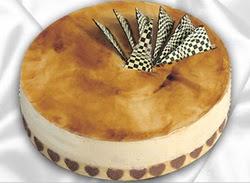 Ankara Pastaneleri ucuz Pasta gönder  taze 4 ile 6 kisilik yas pasta karamelli