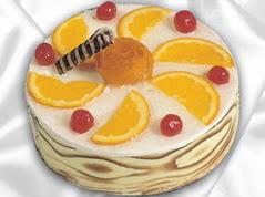 4 ile 6 kisilik yas pasta portakalli pasta  Ankara Pastacı fatih Pasta satışı