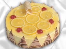 taze pastaci 4 ile 6 kisilik yas pasta limonlu