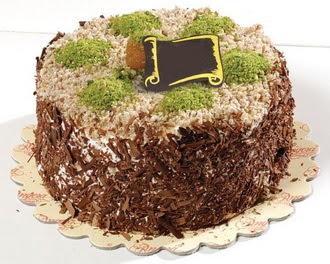 pasta gönderme 4 ile 6 kisilik çikolatali pasta