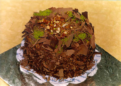 Çikolatali 4 ila 6 kisilik yas pasta  Çukurambar Pastane Pasta siparişi