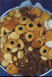 Mamak Pastane Pasta yolla , Pasta gönder , Pastacı   1 kilo karisik tatli kuru pasta